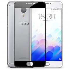Захисне 2.5D скло для Meizu M3 Note f/s 0.3mm Black