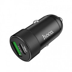 Автомобільний зарядний пристрій Hoco Z32B Speed Up PD+QC3.0 USB+Type-C 27w/4.5A blackАвтомобильное зарядное устройство Hoco Z32B Speed Up PD+QC3.0 USB+Type-C 27w/4.5A black