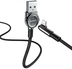 USB кабель Baseus Exciting Mobile Game Cable Lightning 2.4A 1m black