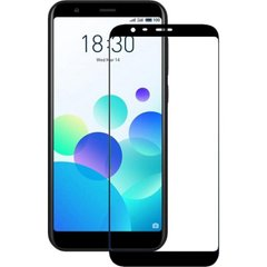 Захисне 2.5D скло для Meizu M8C f/s 0.3mm black