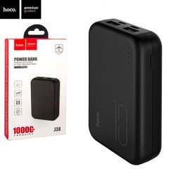 Power Bank Hoco J38 Comprehensive 10000 mAh (Чорний)