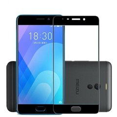 Захисне 2.5D скло для MEIZU M6 Note f/s 0.3mm black