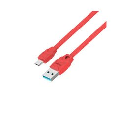 USB кабель Celebrat CB-02 2.4A/1m Type-C red