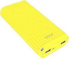 Power Bank GOLF D200 yellow 20000