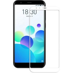 Захисне 2.5D скло для Meizu M8C f/s 0.3mm white