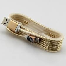USB кабель IPHONE 5S LIGHTNING GOLD