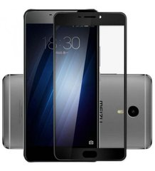 Захисне 3D скло Optima для Meizu M3 Max Black 0.3mm