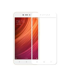 Защитное 2.5D стекло Optima для Xiaomi Redmi Note 5a f/s 0,3mm white