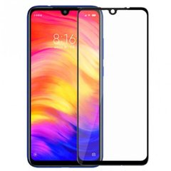 Защитное 2.5D стекло Full Glue для Xiaomi Redmi Note 7 f/s black (пов.) GOpt