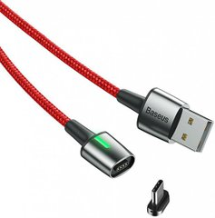 USB кабель Baseus Zink Magnetic Type-C 3A 1m CATXC-A09 RED